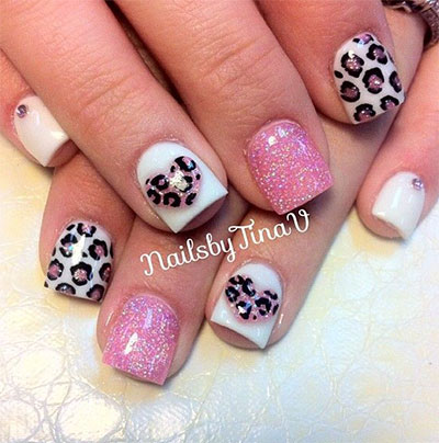 Gel Nail Design Ideas 60 super easy nail art designs and ideas for 2016 20 French Gel Nail Art Designs Ideas Trends