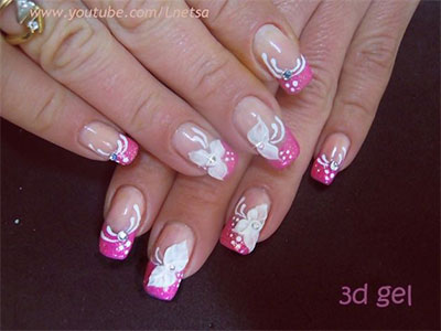 20-French-Gel-Nail-Art-Designs-Ideas-Trends-Stickers-2014-Gel-Nails-5