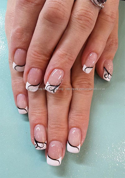 20 french gel nail art designs ideas trends stickers 2014 gel nails fabulous nail art. Black Bedroom Furniture Sets. Home Design Ideas