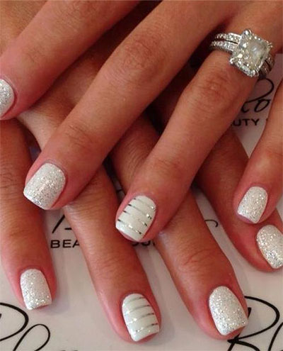 French style gel nails