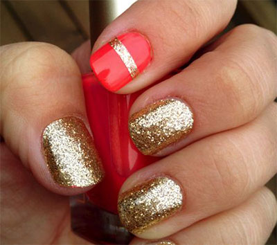 20 french gel nail art designs ideas trends - Gel Nail Design Ideas