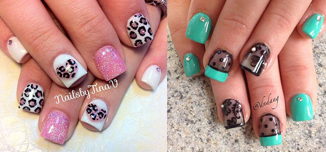 20 gel nail art designs ideas trends stickers 2014 gel nails fabulous nail art designs - Gel Nails Designs Ideas