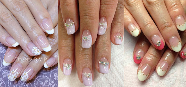 20 French Gel Nail Art Designs Ideas Trends Stickers 2014