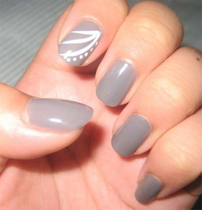 25-Simple-Easy-Nail-Art-Designs-Ideas-Trends-2014-For-Beginners-Learners-14