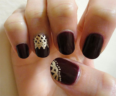 25-Simple-Easy-Nail-Art-Designs-Ideas-Trends-2014-For-Beginners-Learners-15