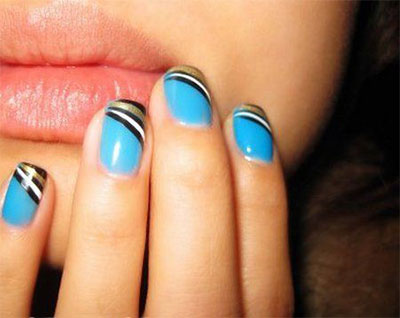 25-Simple-Easy-Nail-Art-Designs-Ideas-Trends-2014-For-Beginners-Learners-26