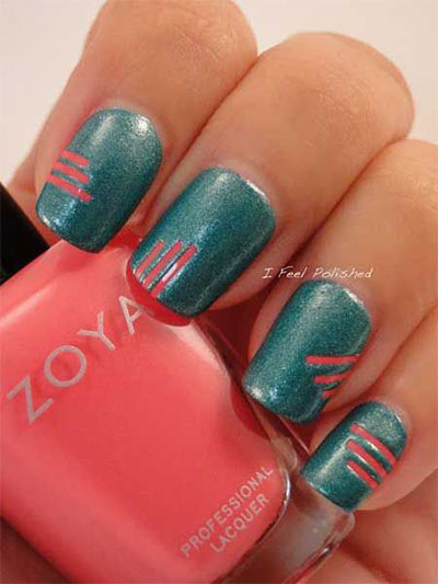 25-Simple-Easy-Nail-Art-Designs-Ideas-Trends-2014-For-Beginners-Learners-7