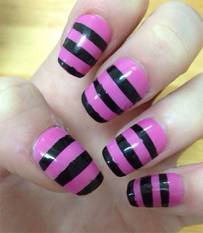 25-Simple-Easy-Nail-Art-Designs-Ideas-Trends-2014-For-Beginners-Learners-8