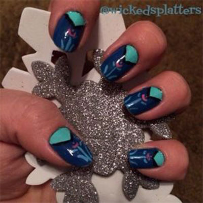 Disney-Frozen-Inspired-Anna-Nail-Art-Designs-Ideas-Stickers-2014-Anna-Nails-3