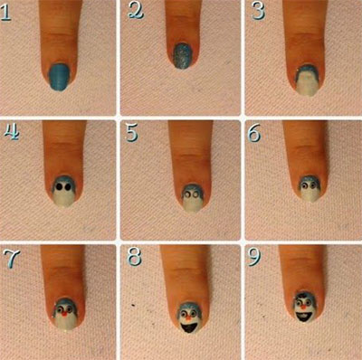Easy-Disney-Frozen-Inspired-Nail-Art-Tutorials-For-Beginners-learners-2014-1