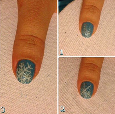 Easy-Disney-Frozen-Inspired-Nail-Art-Tutorials-For-Beginners-learners-2014-2