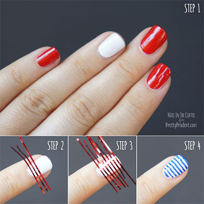 Easy American Flag Nails Best Nail Designs 2018