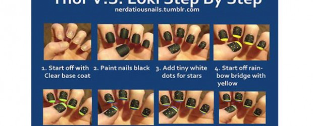 Easy-Loki-Nail-Art-Tutorial-For-Beginners-Learners-2014