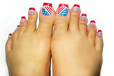 Elegant fourth of july toe nail art designs ideas trends 2014 elegant fourth of july toe nail art designs prinsesfo Image collections