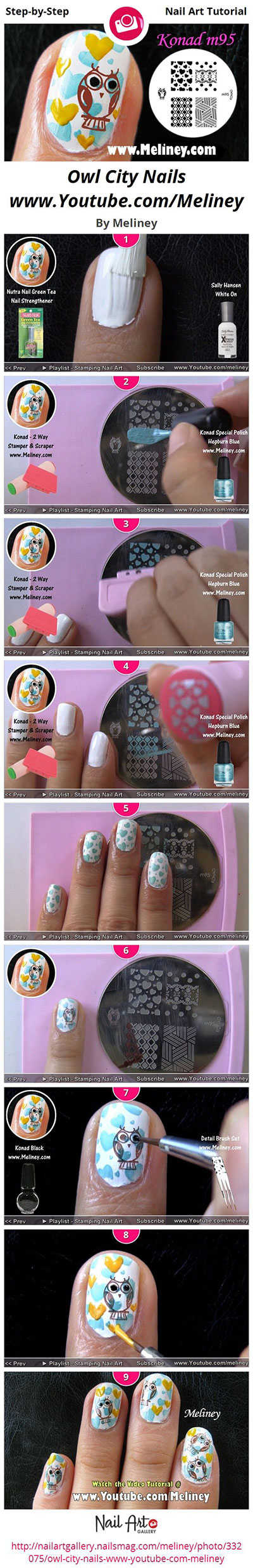 10-Easy-Step-By-Step-Owl-Nail-Art-Tutorials-For-Beginners-2014-11