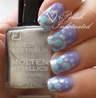 12-Unique-Polka-Dot-Gradient-Nail-Art-Designs-Ideas-Stickers-2014-1