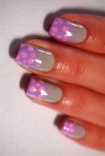 12-Unique-Polka-Dot-Gradient-Nail-Art-Designs-Ideas-Stickers-2014-12