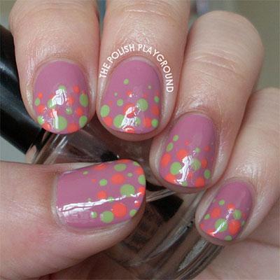 12-Unique-Polka-Dot-Gradient-Nail-Art-Designs-Ideas-Stickers-2014-7