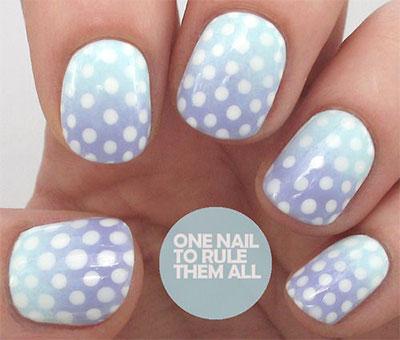 12-Unique-Polka-Dot-Gradient-Nail-Art-Designs-Ideas-Stickers-2014-8