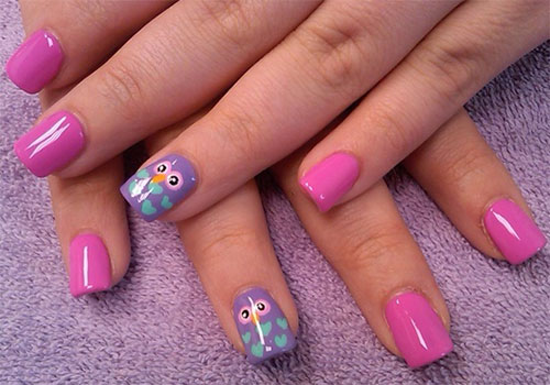 15-Cute-Owl-Nail-Art-Designs-Ideas-Trends-Stickers-2014-1