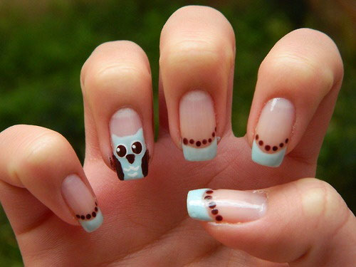 15-Cute-Owl-Nail-Art-Designs-Ideas-Trends-Stickers-2014-12