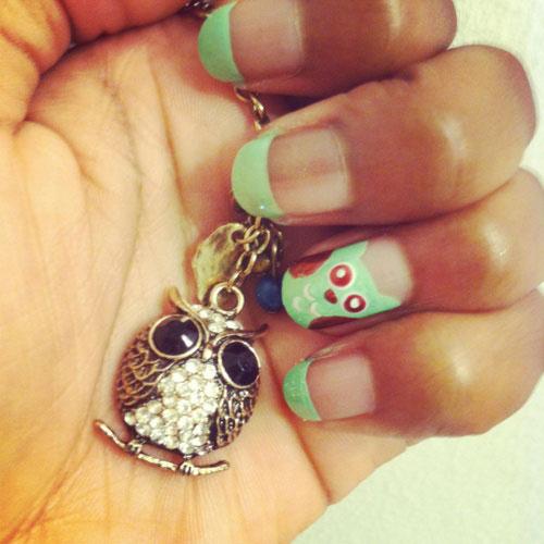 15-Cute-Owl-Nail-Art-Designs-Ideas-Trends-Stickers-2014-14