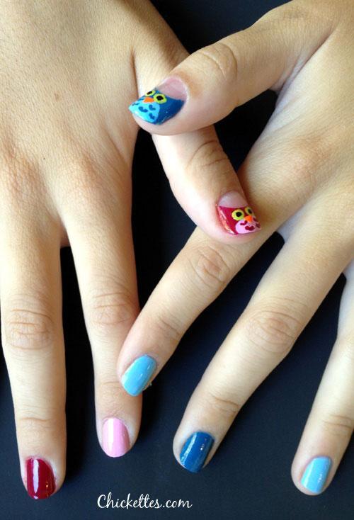 15-Cute-Owl-Nail-Art-Designs-Ideas-Trends-Stickers-2014-3