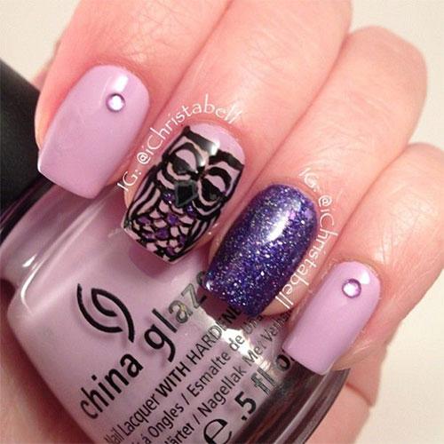 15-Cute-Owl-Nail-Art-Designs-Ideas-Trends-Stickers-2014-6