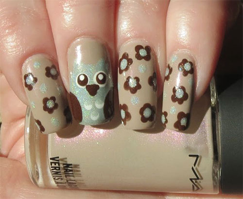 15-Cute-Owl-Nail-Art-Designs-Ideas-Trends-Stickers-2014-8