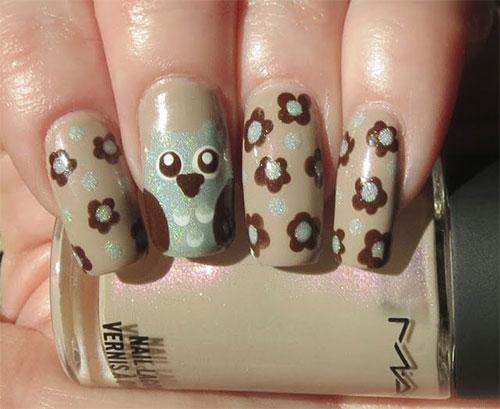 15-Cute-Owl-Nail-Art-Designs-Ideas-Trends-Stickers-2014-8