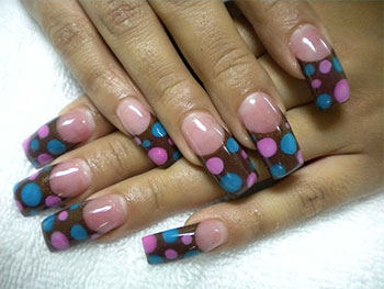 15-Cute-Polka-Dot-French-Nail-Art-Designs-Ideas-Trends-2014-1