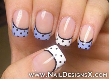 15-Cute-Polka-Dot-French-Nail-Art-Designs-Ideas-Trends-2014-11