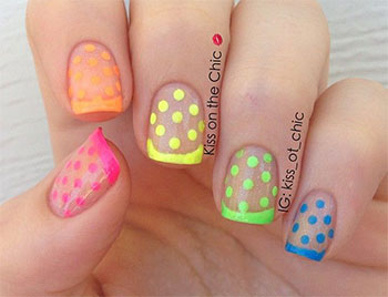 15 cute polka dot french nail art designs ideas trends 2014 15 cute polka dot french nail art designs prinsesfo Gallery