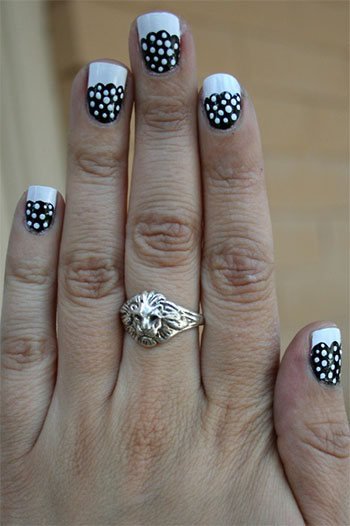 15-Cute-Polka-Dot-French-Nail-Art-Designs-Ideas-Trends-2014-16