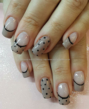 15-Cute-Polka-Dot-French-Nail-Art-Designs-Ideas-Trends-2014-2