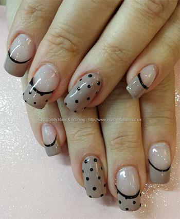 15-Cute-Polka-Dot-French-Nail-Art-Designs-Ideas-Trends-2014-2