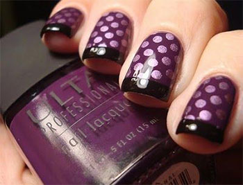15-Cute-Polka-Dot-French-Nail-Art-Designs-Ideas-Trends-2014-3