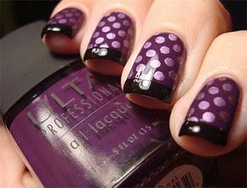 15-Cute-Polka-Dot-French-Nail-Art-Designs-Ideas-Trends-2014-3