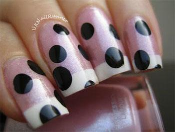 15-Cute-Polka-Dot-French-Nail-Art-Designs-Ideas-Trends-2014-7