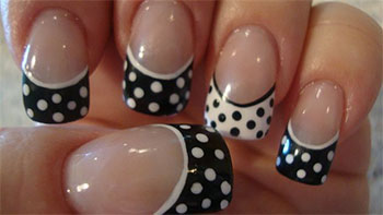15-Cute-Polka-Dot-French-Nail-Art-Designs-Ideas-Trends-2014-8