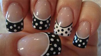 15-Cute-Polka-Dot-French-Nail-Art-Designs-Ideas-Trends-2014-8
