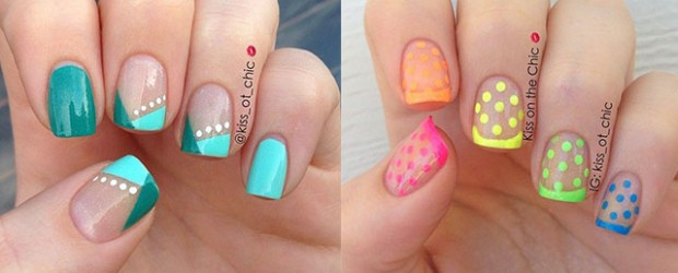 15-Cute-Polka-Dot-French-Nail-Art-Designs-Ideas-Trends-2014