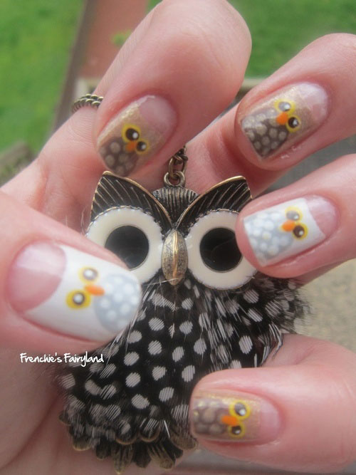 15-Owl-Nail-Art-Designs-Ideas-Trends-Stickers-2014-1