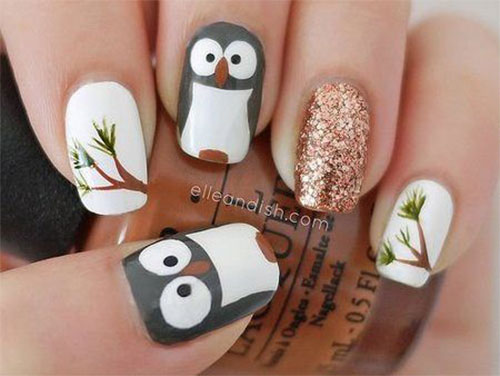 15-Owl-Nail-Art-Designs-Ideas-Trends-Stickers-2014-10