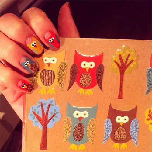 15-Owl-Nail-Art-Designs-Ideas-Trends-Stickers-2014-15