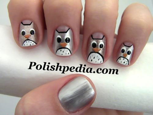 15-Owl-Nail-Art-Designs-Ideas-Trends-Stickers-2014-16