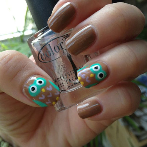 15-Owl-Nail-Art-Designs-Ideas-Trends-Stickers-2014-6