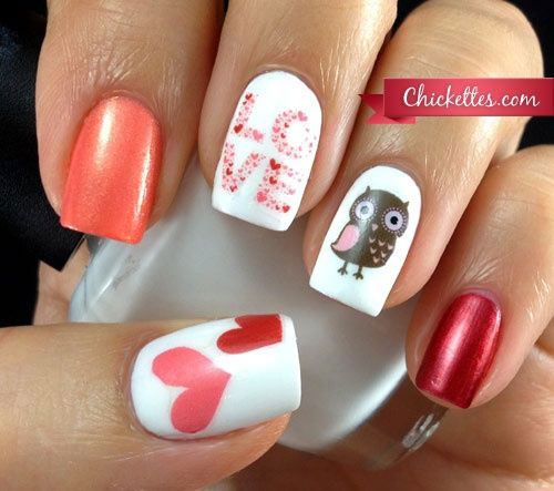 15-Owl-Nail-Art-Designs-Ideas-Trends-Stickers-2014-7