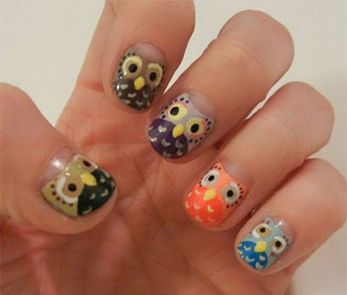 15-Owl-Nail-Art-Designs-Ideas-Trends-Stickers-2014-8