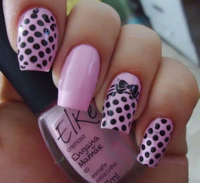 15-Polka-Dot-Bow-Nail-Art-Designs-Ideas-Trends-2014-15